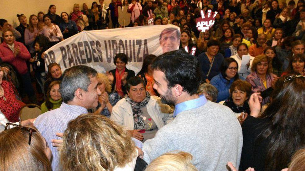"""Paredes Urquiza: """"es clave el trabajo codo a codo para transformar la provincia"""""""