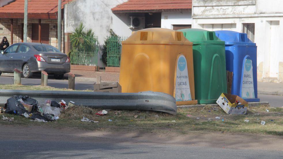 Realizaron multas por arrojar residuos no permitidos en Puntos Limpios