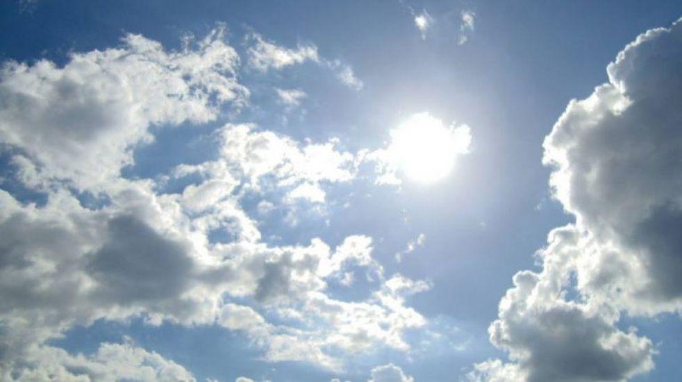 Fin de semana con cielo algo nublado para Arroyito