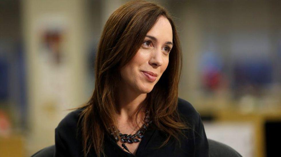 """María Eugenia Vidal: """"No soy Cristina, estoy más pobre que antes"""""""