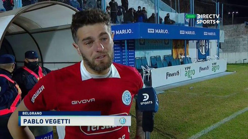 """Pablo Vegetti: """"Esto es un desahogo porque se trabaja mucho y no se daban las cosas"""""""