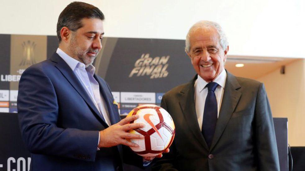"""""""Esto no es más que un juego"""", dijeron los presidentes de River y Boca antes de la megafinal"""