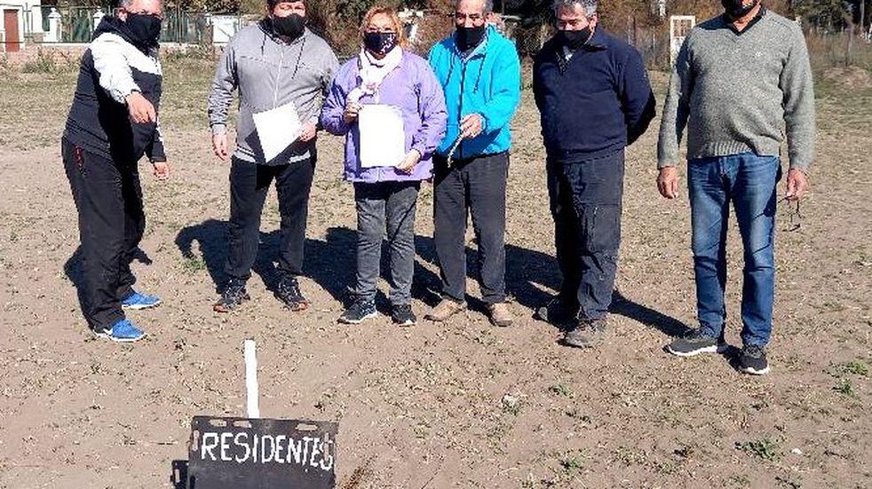 Entregan tierras en comodato al Centro de Residentes Sanjuaninos