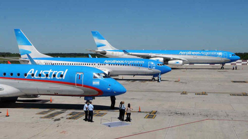 Aerolíneas Argentinas vuela al 20% de su capacidad y perdería este año 450 millones de dólares