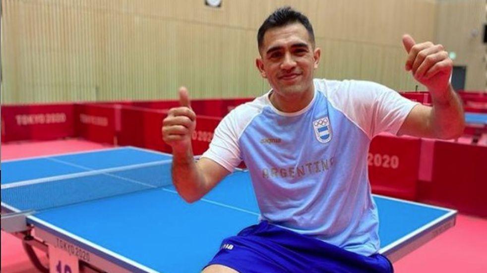 Juegos Olímpicos: el mendocino Gastón Alto y toda la confianza para el debut en tenis de mesa