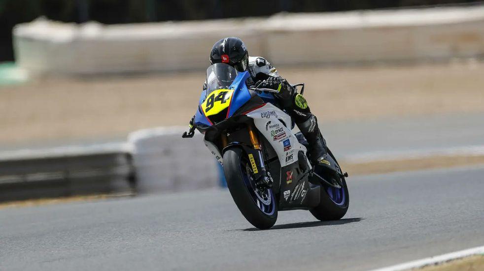 Buen fin de Semana para Andrés González en el Superbike Español