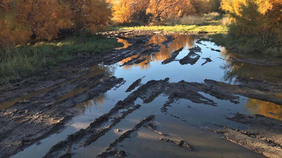 Piden soluciones a numerosas pérdidas de agua en el distrito