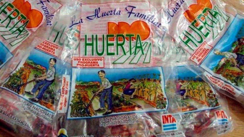 Entregan semillas del Pro Huerta