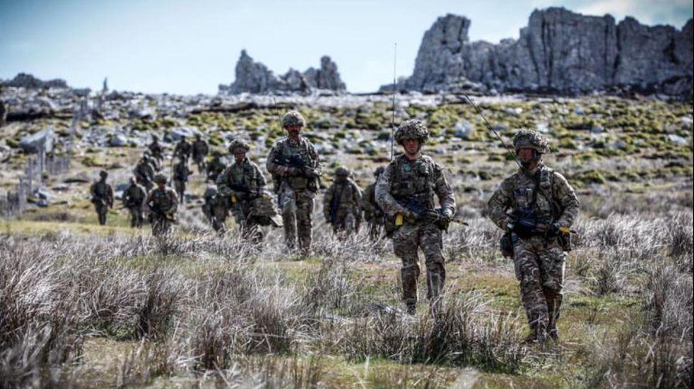 Nuevos ejercicios militares en Malvinas