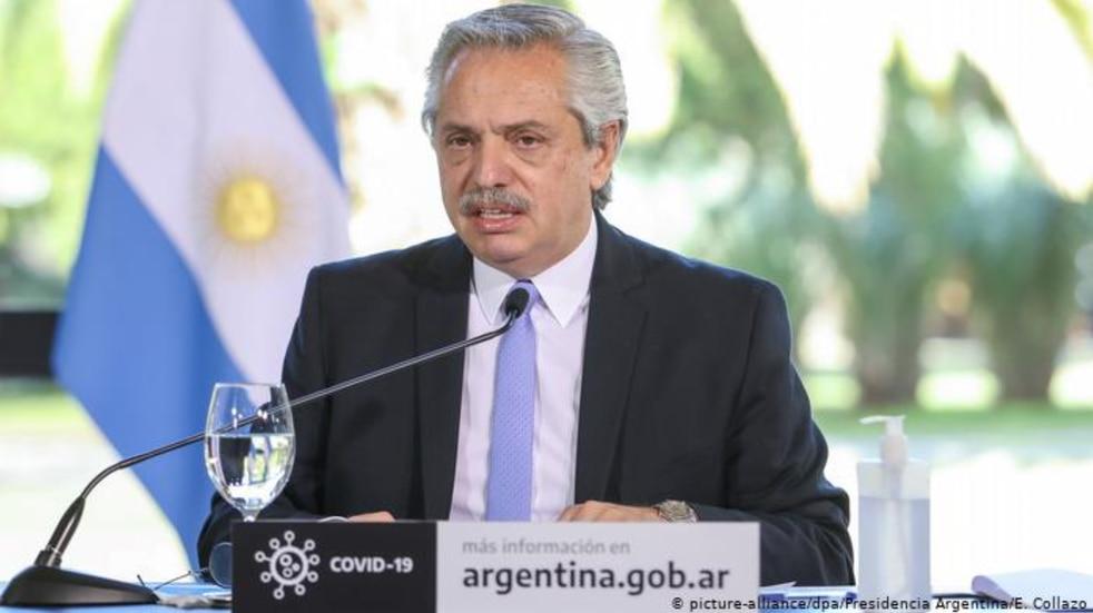 """""""Por favor, vayan y contágiense"""": el insólito error de Alberto Fernández en un acto"""