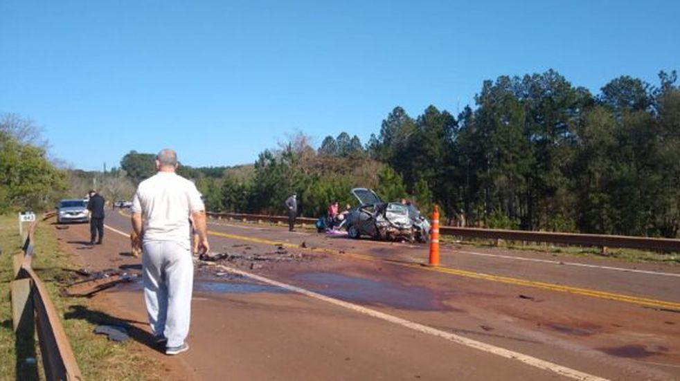 Leandro N. Alem: accidente fatal dejó dos personas fallecidas