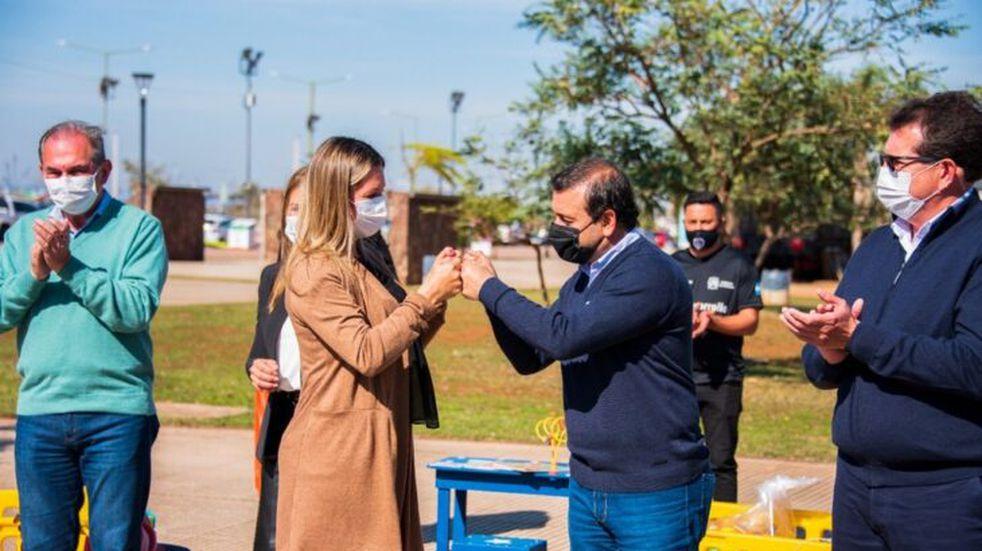 Entregaron kits lúdicos para niños a diferentes municipios de Misiones
