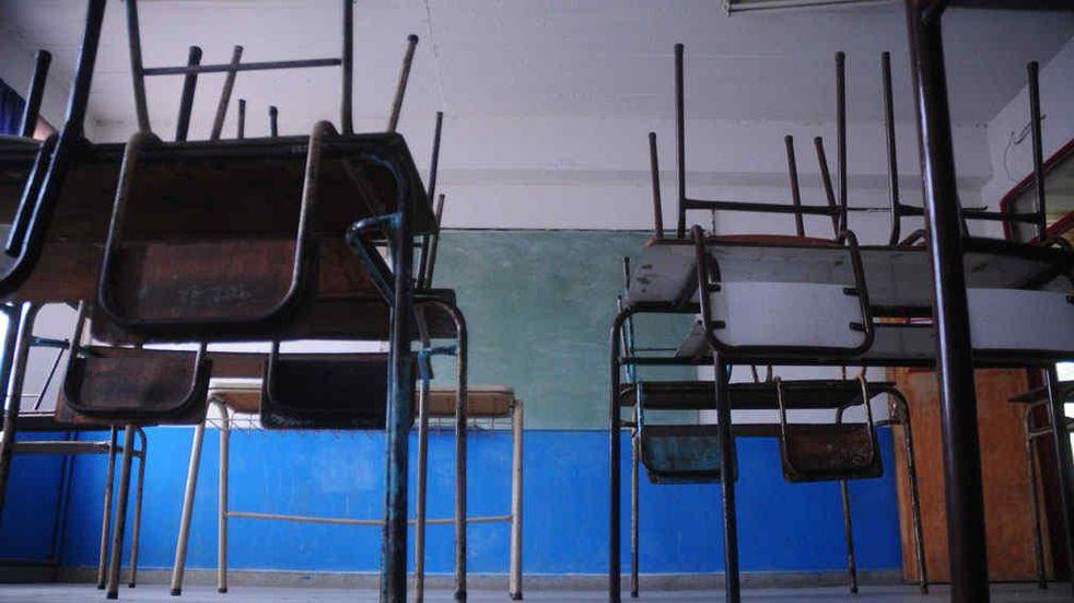 Gremios docentes realizan un paro por 48 horas para rechazar las clases presenciales en la Ciudad