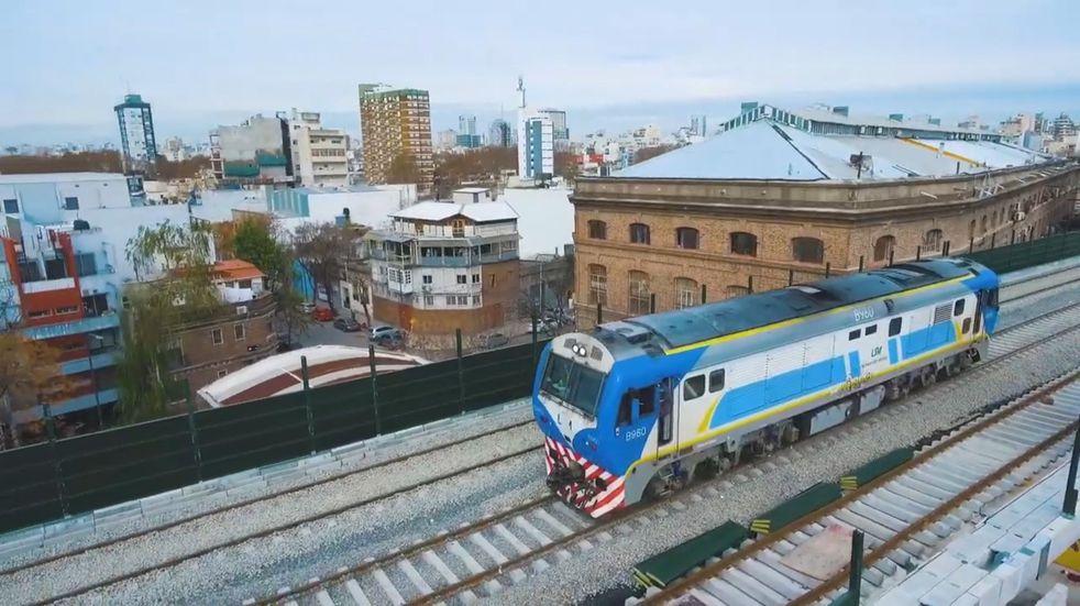 Se reanudó el servicio del tren San Martín luego de una amenaza de bomba en Palermo