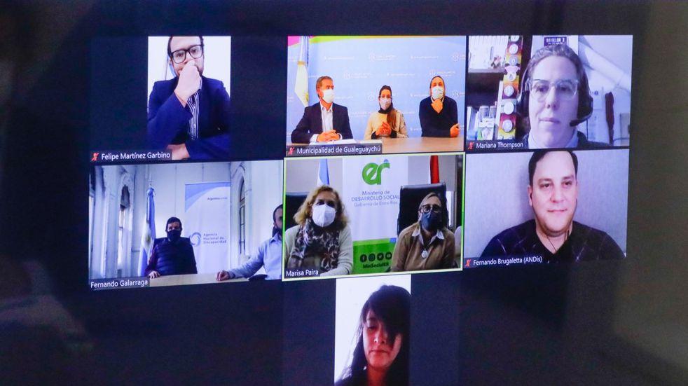 Gualeguaychú firmó convenio con la Agencia Nacional de Discapacidad