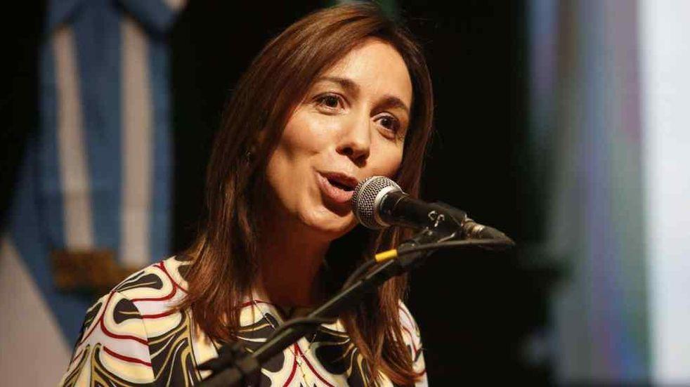 """María Eugenia Vidal: """"Yo quiero transformar el país y el lugar que vaya a ocupar lo va a definir la gente"""""""