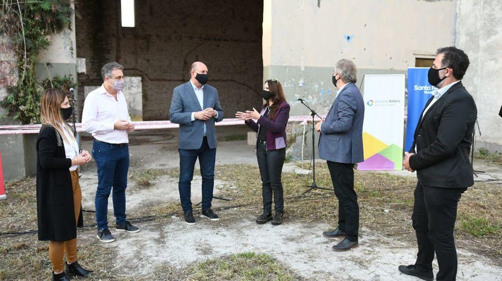 Harán un concurso de ideas para reconstruir a los exalmacenes Ripamonti