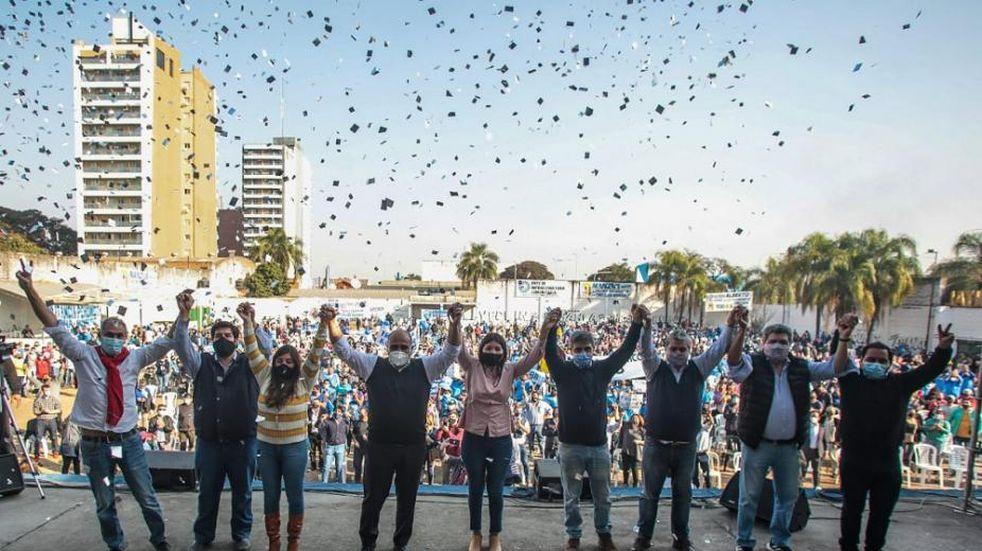 """Juan Manzur: """"Somos leales a nuestro Presidente de la Nación Alberto Fernández y a Cristina Fernández"""""""