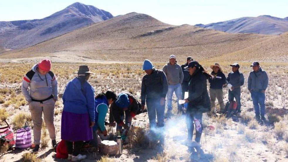 En lo profundo del Jujuy rural continúan tributos a la Pachamama