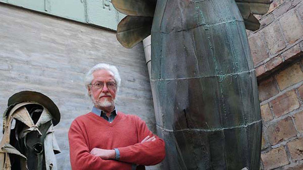 Guaymallén realizó un homenaje especial al escultor Roberto Rosas