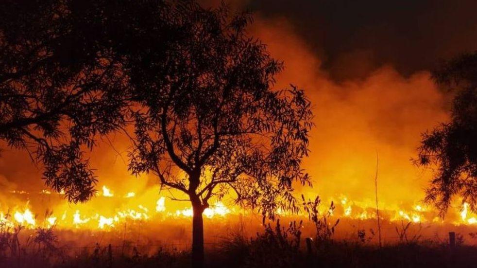 Preocupación por nuevos focos de incendio en Corrientes