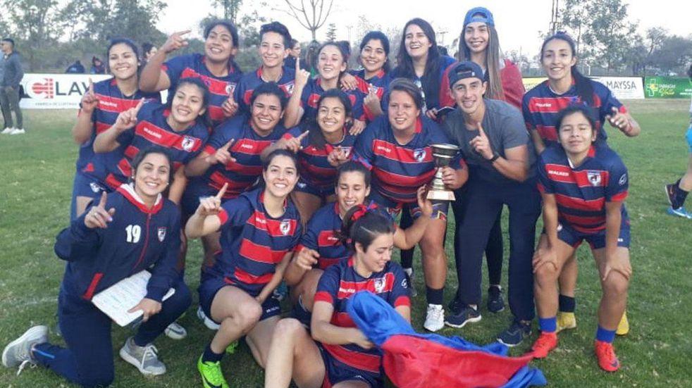 Aguará Guazú ganó el Torneo Nacional de Rugby Femenino.