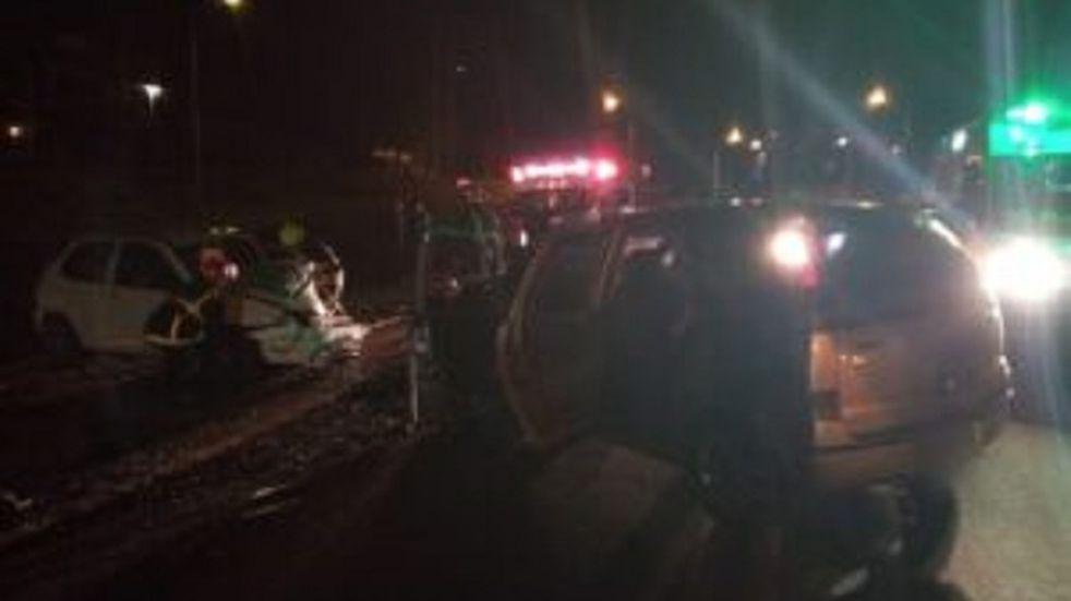 Accidente vial dejó un saldo de cuatro heridos en Guaraní