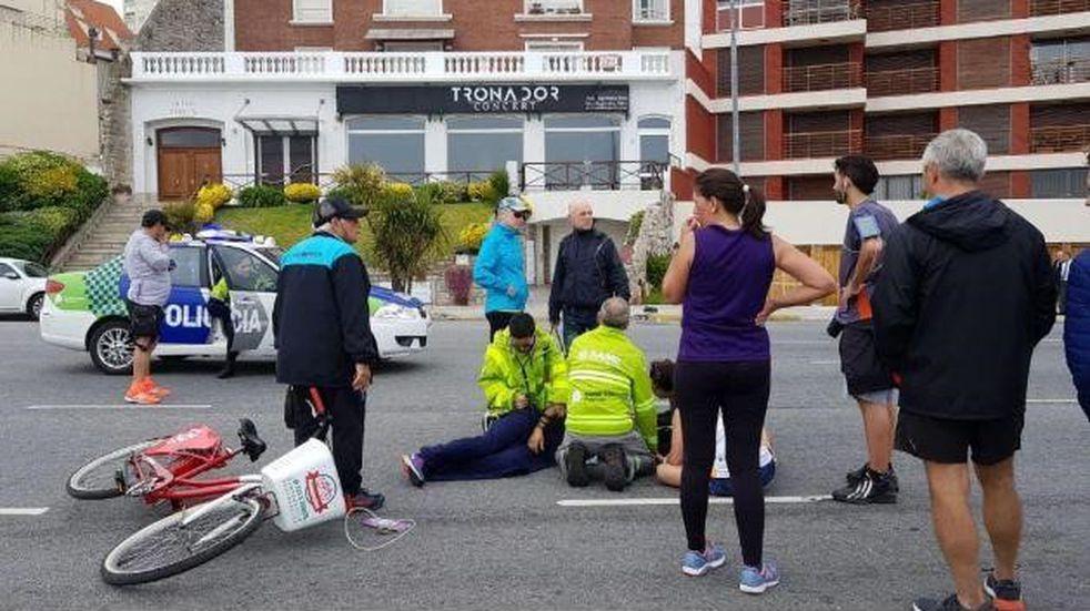 Un corredor de la Maratón de Mar del Plata se descompensó y tuvo que ser reanimado