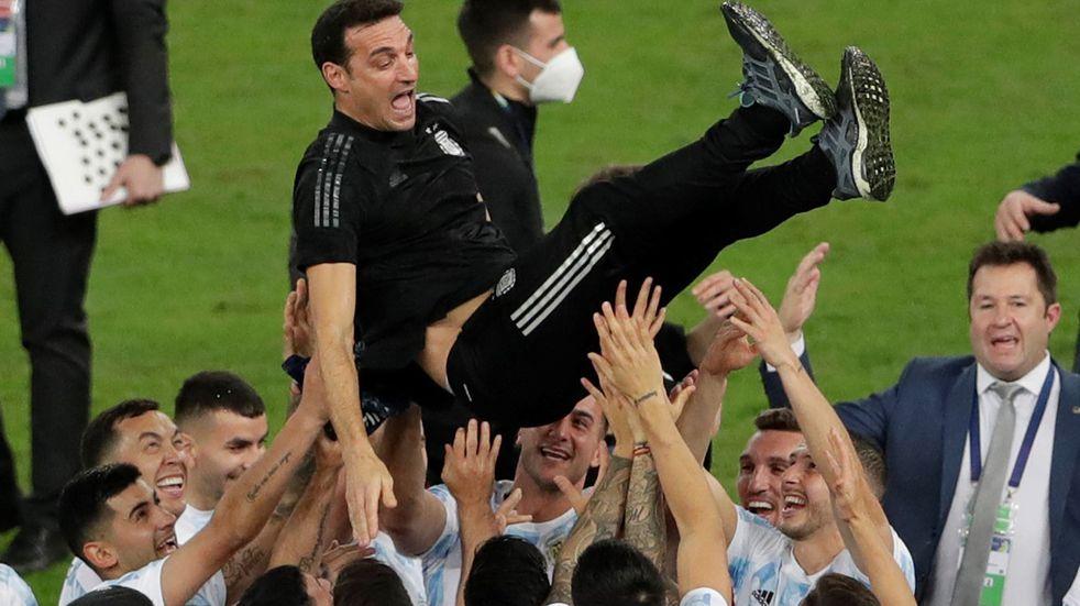 """Lionel Scaloni y la Copa América: """"No esperábamos que la repercusión sea tan grande"""""""