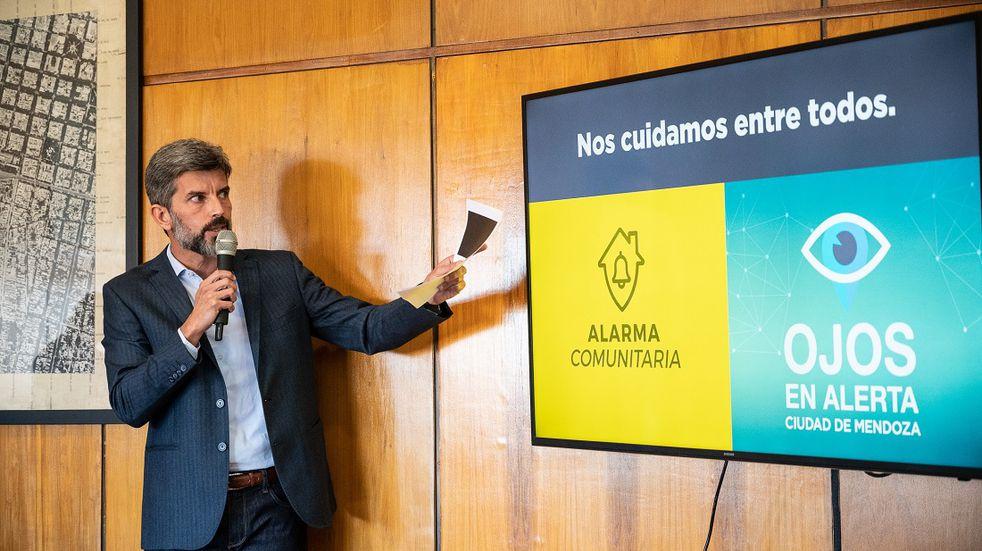 La Ciudad puso en marcha el programa Alarma Comunitaria