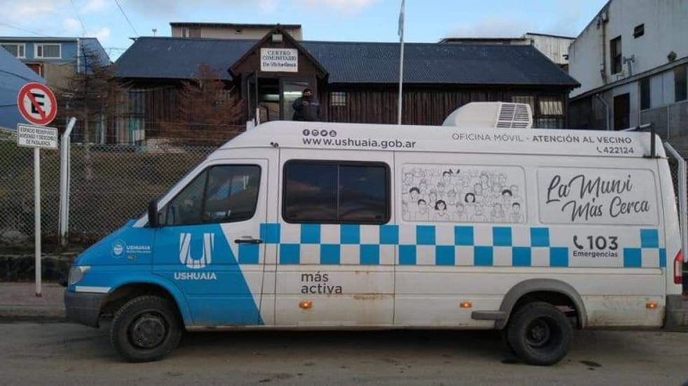 Ushuaia: la unidad de Atención al Vecino atenderá en el B° Los Morros