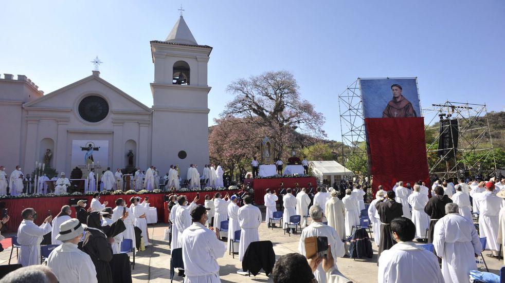 En fotos la ceremonia de Beatificación de Fray Mamerto Esquiú