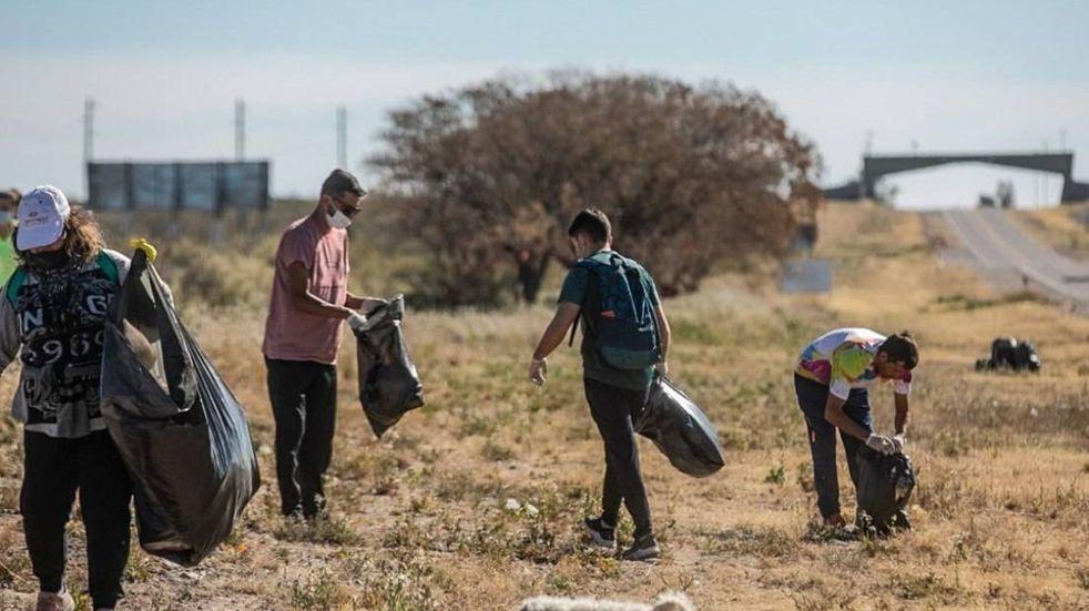 Desde Eco Earth mostraron la preocupación por los residuos que deja la gente en sitios turísticos