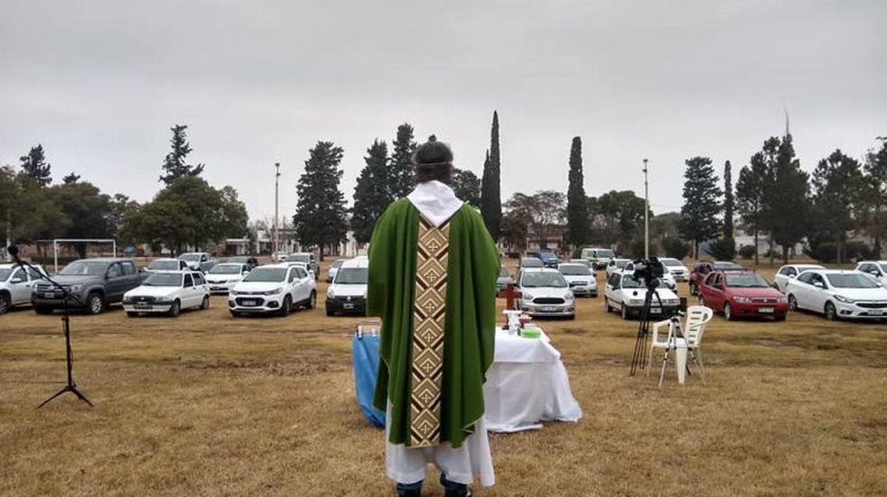 En Luque, se celebró la primera auto-Misa