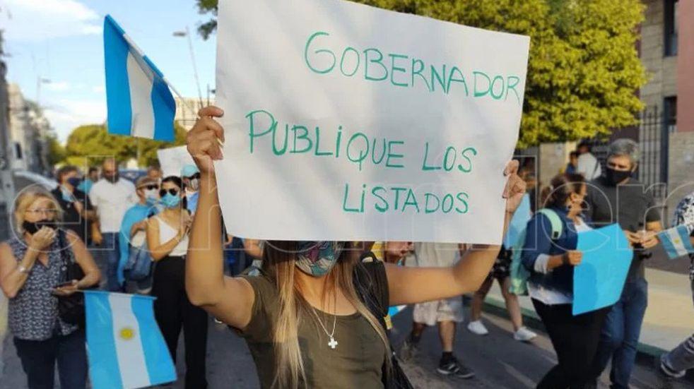 #27F: San Luis hizo escuchar su enojo contra las Vacunas Vip