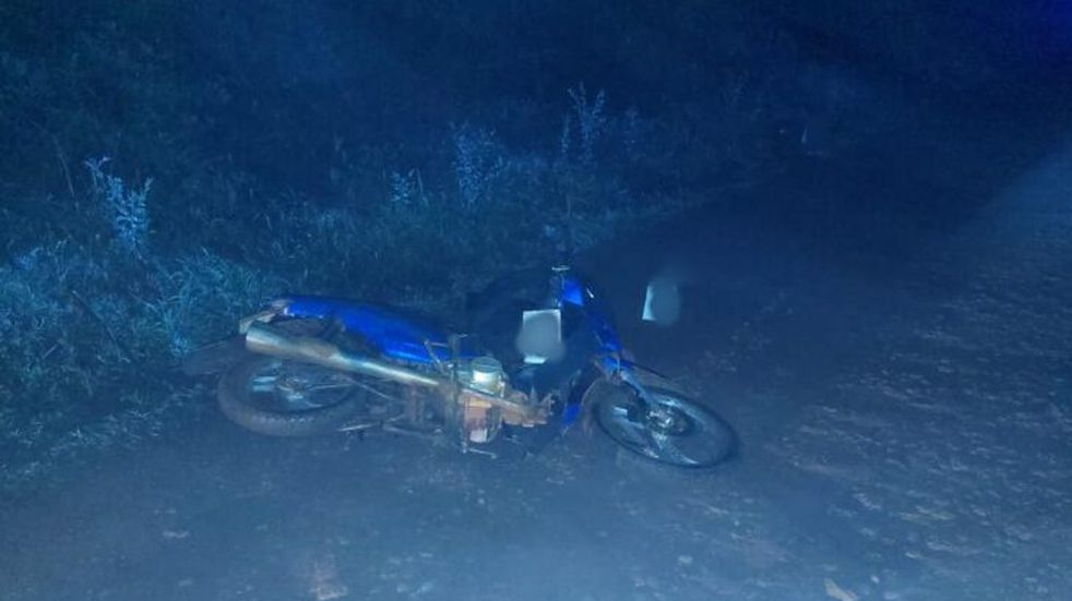Apóstoles: Un motociclista falleció tras un despiste
