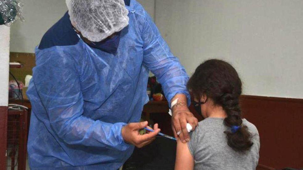 Corrientes inició la inmunización a menores de 3 a 11 años contra el Coronavirus.