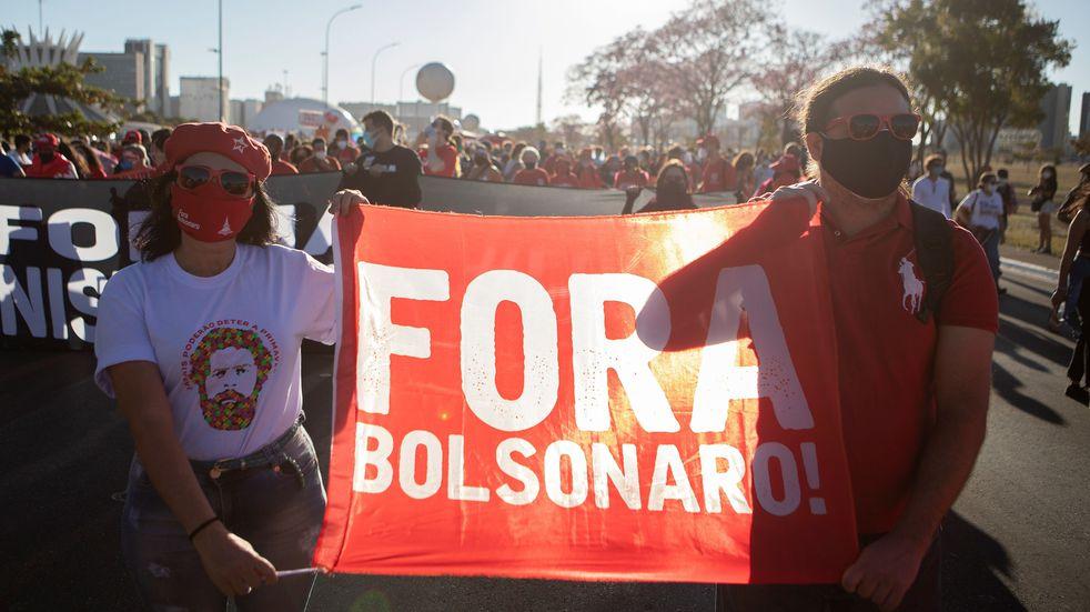 Protestas en Brasil: piden la destitución de Jair Bolsonaro