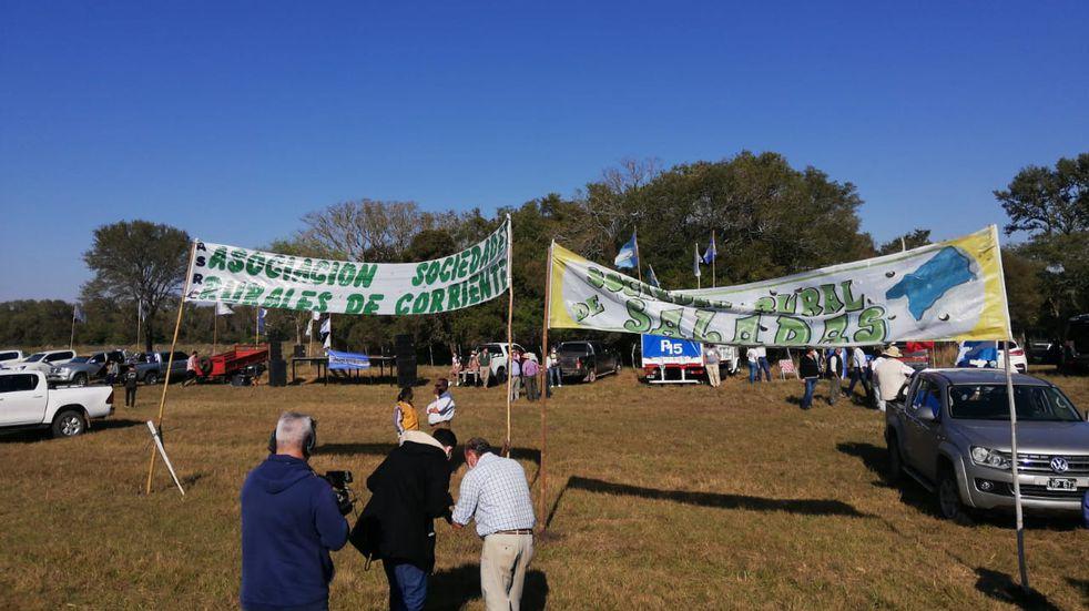 Ganaderos correntinos se sumaron a la protesta nacional contra el Gobierno nacional