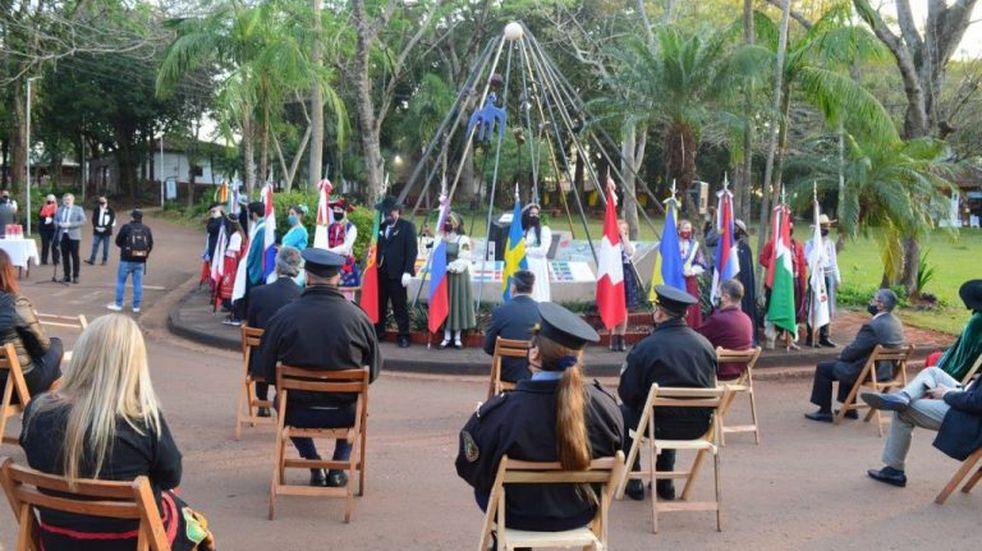 El evento Oberá Inmigrantes sirvió como prueba para la fiesta nacional