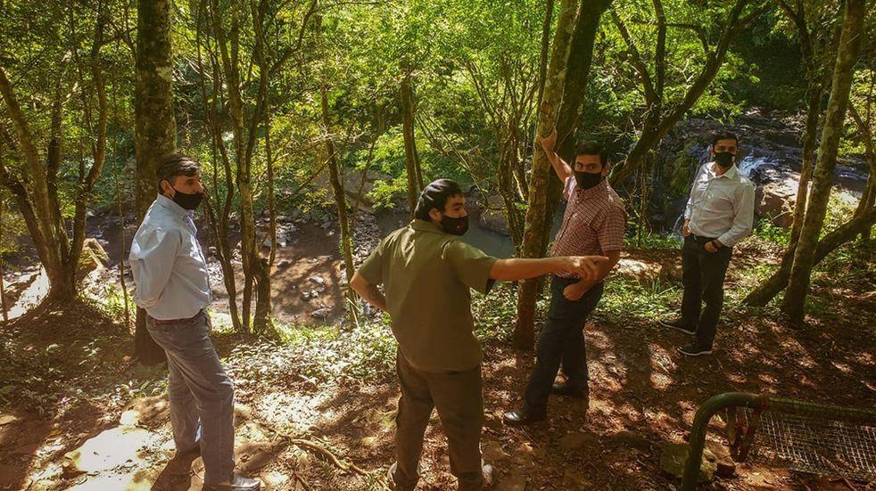 Trabajan en la recuperación y conservación del Salto Küppers de Eldorado