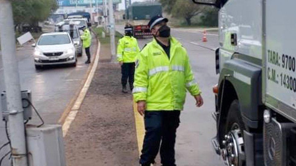Feliciano: encuentran 300 kilos de marihuana oculta en un camión térmico
