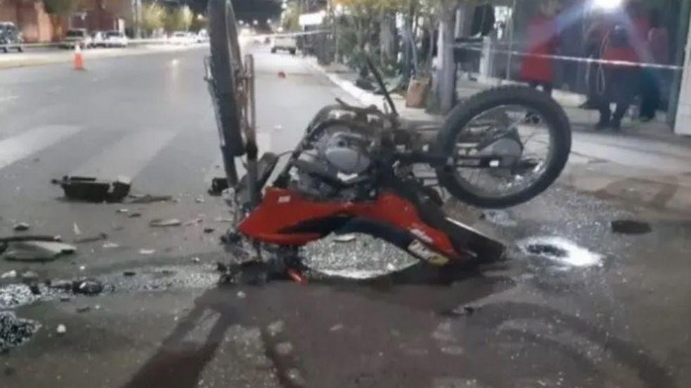 Murió Yésica, la motociclista que protagonizó un violento accidente en Rawson