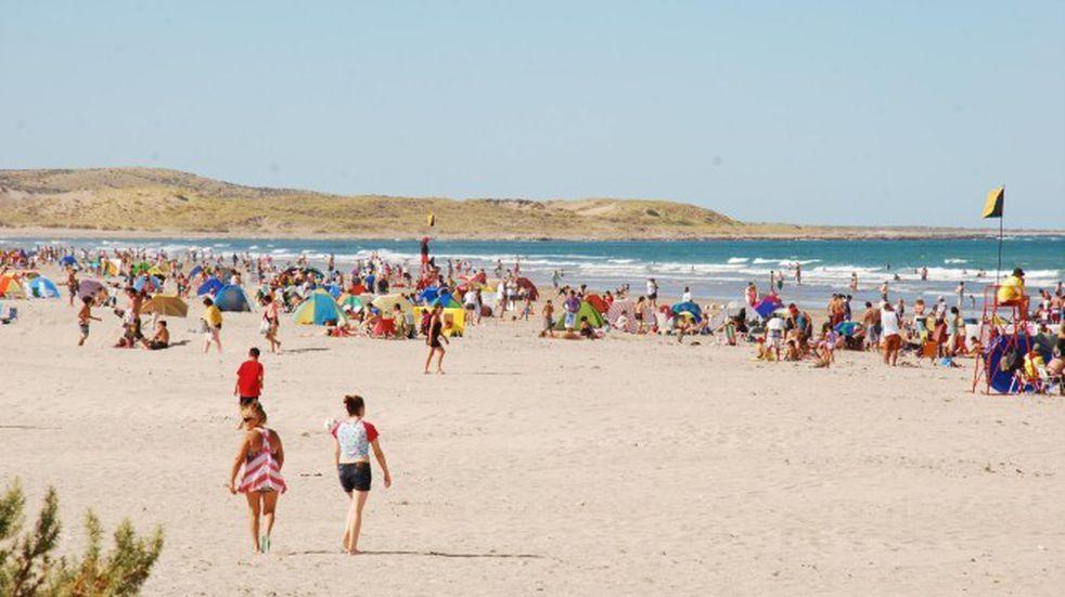 Las playas de Río Negro cierran enero con un 98 % de ocupación