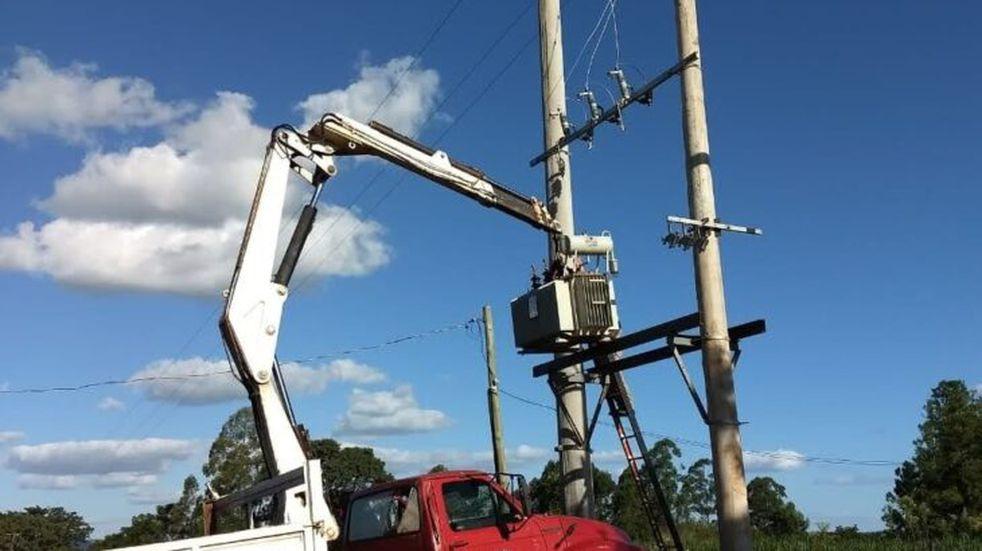 Nuevas subestaciones de energía en Santa Ana e Itacaruaré