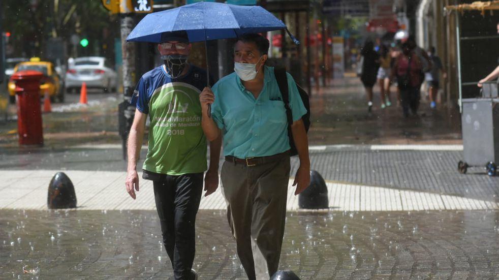 Emiten alerta meteorológico por tormentas en Mendoza