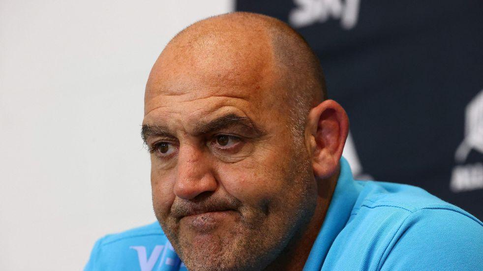 Mario Ledesma, entrenador de Los Pumas (Archivo)