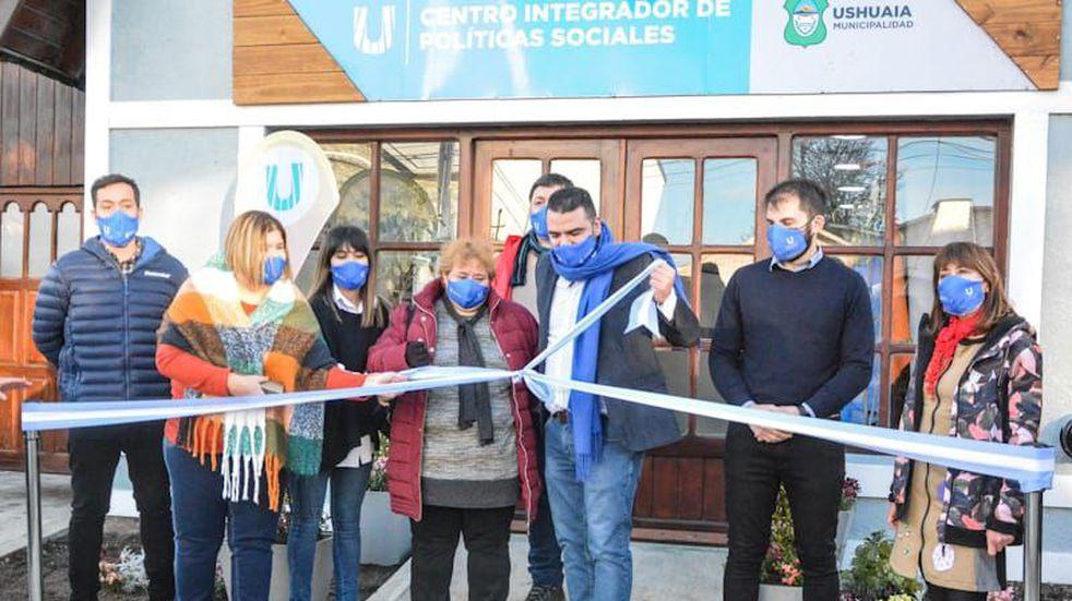 El intendente Vuoto inauguró el Centro de Políticas Sociales