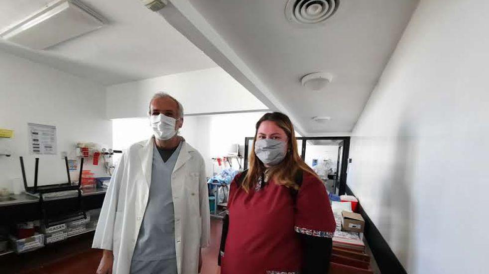 Se incorporó una kinesióloga exclusiva para el área de pediatría del Centro de Salud