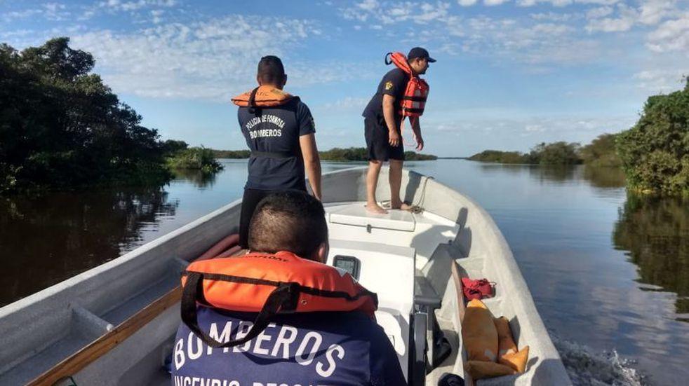 Quinto día: la Policía se suma a la búsqueda de Silvia Torres Cisneros desaparecida en el Río Paraguay